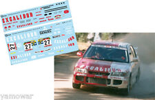Decal 1:43 Kurt Gottlicher - MITSUBISHI LANCER EVO III  - Rally Portugal 1997