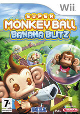 Super Monkey Ball Banana Blitz Wii Game *in Excellent Condition*