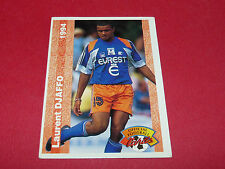 LAURENT DJAFFO MONTPELLIER HERAULT MHSC MOSSON FRANCE FOOTBALL CARD PANINI 1994
