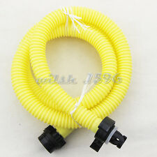 Yellow Air Foot Pump Hose with Valve Connector for Inflatable Boat Accessories
