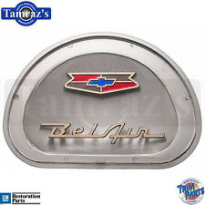 1957 Chevy Bel Air Steering Wheel Horn Cap Center Assembly Emblem Insert USA