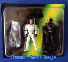 Star Wars POTF2 Escape Death Star Board Game 2-Pack Darth Vader Luke Skywalker
