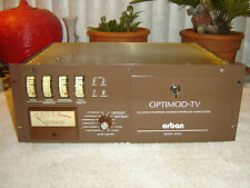 Orban 8182A Optimod-TV, Multiband Compressor, Vintage Rack
