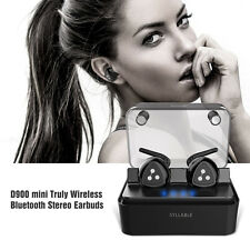 Syllable D900 mini True Wireless Bluetooth Stereo Headphones Earphones Headset