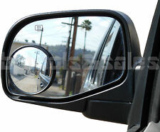 "3"" Wide Angle Convex Blind Spot Rear Side View Mirrors Car Truck Universal Fit"