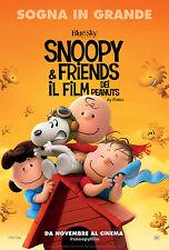 Snoopy & Friends - Il film dei Peanuts Poster originale italiano cm 70x100