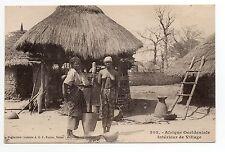 AFRIQUE OCCIDENTALE ethnique nus exotiques african beauty ethnic intér.Village