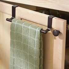 Guest Towel Holder Tray Kitchen Bathroom Over the Cab Cloth Rack Stand Organizer