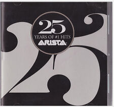 25 YEARS OF NUMBER 1 HITS ARISTA RECORDS (CD)