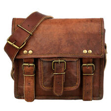 Fair Trade Handmade Small Brown Leather Satchel - 2nd Quality
