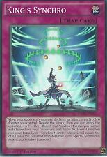 YU-GI-OH SUPER RARE CARD: KING'S SYNCHRO - INOV-EN067 - 1ST EDITION