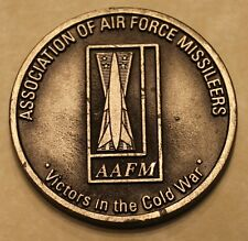 """Association of Air Force Missileers """"Victors in the Cold War"""" Challenge Coin"""