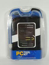 PC Tool Kit iConcepts 11 piece set - Screwdrivers Retriever Tweezers +