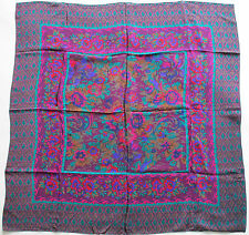 "Liz Claiborne Fine Silk Floral Scarf 30"""