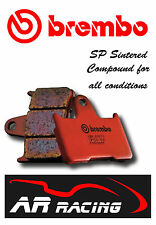 Brembo SP Sintered Rear Brake Pads to fit Buell 1200 S3 Thunderbolt 1998 - 2002