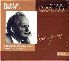 Wilhelm Kempff 3 Great pianists of the 20th Century 2cd Beethoven Brahms Mozart