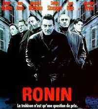 Bande annonce film 35mm 1998 RONIN Robert De Niro Jean Réno John Frankenheimer