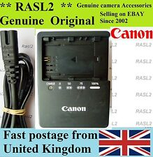 Genuine Original CANON Charger LC-E6e LP-E6 EOS 6D 7D 60D 70D 5D Mark II III 2 3