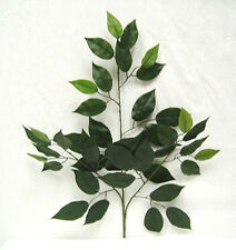 "1 FICUS SPRAY 24 ""~ Filler Greenery Silk Wedding Flowers Centerpieces Decoration"