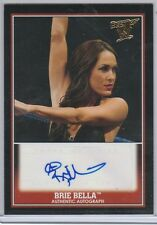 BRIE BELLA 2013 TOPPS BEST OF WWE- AUTHENTIC AUTOGRAPH- DIVA AUTO