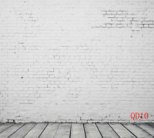 10x10FT LB Brick Wall Floor Vinyl Backdrop Photography Photo Background QD10