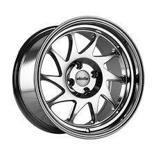 16x9 +15 Whistler KR7 4x100 Chrome Wheel Fits Vw Jetta Golf Cabrio Corrado