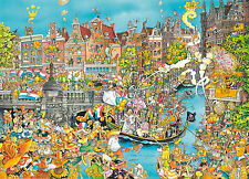 King Amsterdam King's Day Jigsaw Puzzle (1000 Pieces) - Brand New