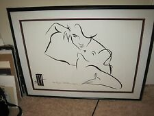 """TY WILSON """"The Kiss"""" Signed & Dated by the artist 42x32"""""""