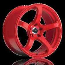 18x10.5 Advanti Racing Deriva 5X114.3 ET15 Red Rims (Set of 4)