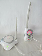 FISHER PRICE BABY MONITOR SOUNDS N' LIGHTS BASE & RECEIVER WHITE - J1315/J1316