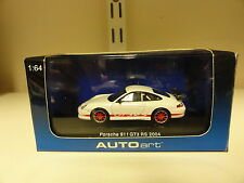 Autoart 1:64 Porsche 911 GT3 RS 2004 Red/White