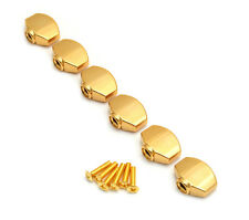 (6) Gold Buttons for Gotoh Mini Sealed Guitar Tuners TK-7714-002