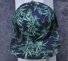 Black Scale Sativa Mens Black Strap Skate Co. Snapback Hat