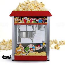 220V Stainless Steel Commercial Popcorn Machine Electric Popcorn Machine