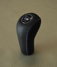 BMW NEW GEAR STICK SHIFT KNOB - E21 E28 E30 E34 E36 E39 E46  PERFORATED 5sp