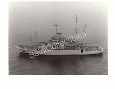 Historic US Navy Ship Safeguard ARS-50 Rescue/Salvage Ship Official Photo 8x10