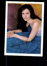Courteney Cox Arquette Autogrammkarte TOP ## BC G 12183 D