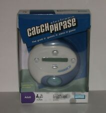 NIB PARKER BROTEHRS CATCH PHRASE ELECTRONIC GAME SEALED 2009