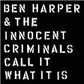 BEN HARPER & THE INNOCENT CRIMINALS - Call It What It Is  (CD 2016)