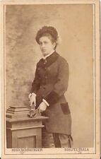 CDV photo Feine Dame - Bielitz Biala 1880er