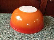 Rare burnt orange 404 Pyrex Mixing bowl