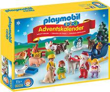 """Playmobil - 1.2.3 Adventskalender """"Weihnacht auf dem Bauernhof"""", 9009"""