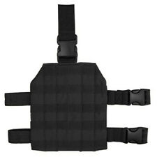 Condor MA1 Black Tactical PALS MOLLE Modular Drop Down Thigh Leg Rig Platform