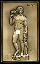 ANTIQUE/ITALIAN SCULPTOR NUDES / ART / MYTHOLOGY BACCO WINE GOD /SPECIMEN  M10E*