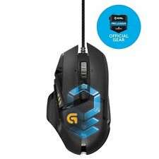 GAMING MOUSE Logitech Proteus Spectrum G502 RGB LED 11 Buttons Infinite Scroll