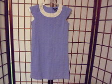 NWT~GAP KIDS~Perwinkle Eyelet Girls Dress~Sz XXL (14)~$40 ret