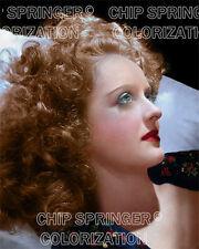 BETTE DAVIS 1939 Blue Pillow #2 | Beautiful 8x10 COLOR PHOTO by CHIP SPRINGER