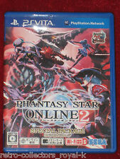 PSVita Game PHANTASY STAR ONLINE 2 SPECIAL PACKAGE Japan Import PlayStation Vita