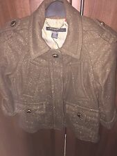 Marc Jacobs Khaki Brown Short Jacket