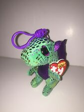 TY CINDER DRAGON KEY CLIP BEANIE BOOS-NEW, MINT TAG *IN HAND NOW-IMMEDIATE SHIP*